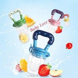 Chupeta Alimentadora Porta Frutinha Bico Extra Macio