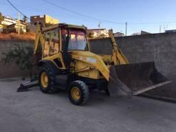 Retroescavadeira randon não é pa carrecadeira escavadeira truck pego troca!!