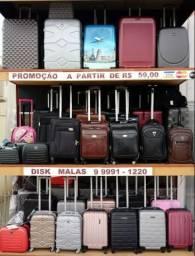Promoção Malas Apartir de 59,00 até 12 X no Cartão em Rondonópolis
