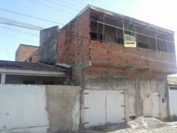 Casa duplex no conjunto João Alves em fase de construção