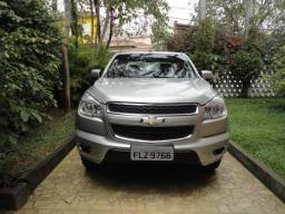 Gm - Chevrolet S10 LT 2.8 Diesel TDI Automatica 4x4 Prata Top de linha Impecavel !!!! - 2014