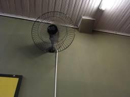Ventilador De Parede Oscilante Preto 60Cm Bivolt Premium Venti-Delta