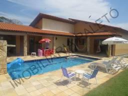 REF 1387 Casa Campo 3 dormitórios, bela área lazer, piscina