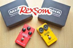 Pedal MXR Distortion Distorção p guitarra amplificador - troka boss marshall fender Rexsom