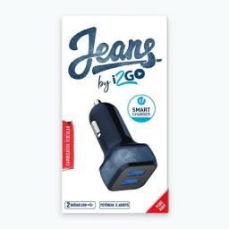 Carregador Veicular Jeans I2go