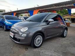 FIAT 500 2009/2010 1.4 LOUNGE 16V GASOLINA 2P MANUAL - 2010