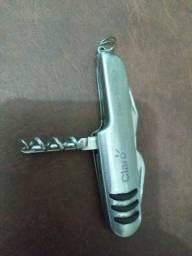 Canivete com chave fenda abridor