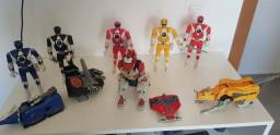 Colecao power rangers original mighty morphin
