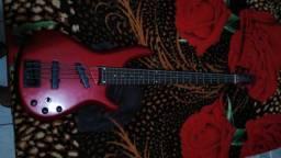 Vende ou troca um contra baixo em um violão elétrico