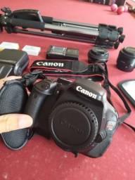 Camera Canon t3i+flash