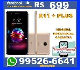 T.O.P LG K11 + Plus 32GB dourado caixa_lacrada nota garantia_1_ano 887rawl