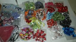 Laços e gravatas para pet shop 210 pcs