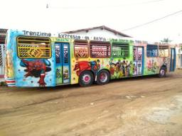 Vendo ou troco!! ônibus modificado! trenzinho
