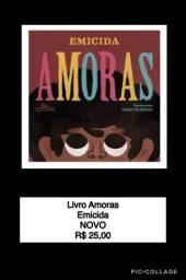 Livro Amoras Emicida NOVO