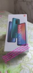 Smartphone Xiaomi Redmi Note 9 Cinza 64GB, novo na caixa