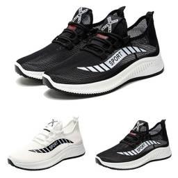 Tênis sapato 36-37-38 respirável acadêmia esportivo unissex confortável