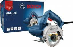 "Serra Marmore 4.3/8"" 1.500W GDC-150 Titan Bosch 127v"