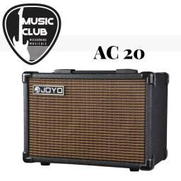 Amplificador Joyo AC 20 e AC 40 Violão