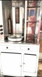 Máquina de churrasco grego seminova