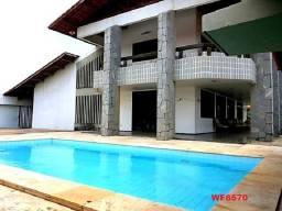 CA0626 Alugo Casa de alto padrão com 5 quartos, 8 vagas, piscina, Bairro Sapiranga