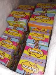 Caixa de Sorvetes- Fazemos entregas Grátis