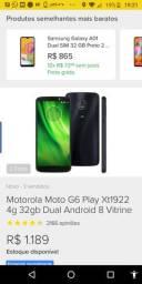 Moto G6 play (AZUL)