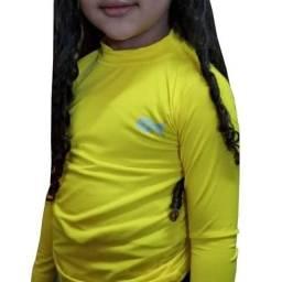 kit 60 camisa uv infantil