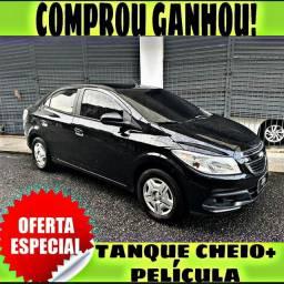 TANQUE CHEIO SO NA EMPORIUM CAR!!! PRISMA LT 1.4 ANO 2015 COM MIL DE ENTRADA