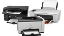 Manutenção em impressoras e pcs