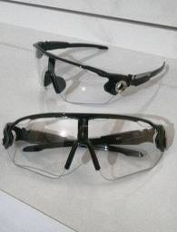 Óculos Transparentes para Ciclismo