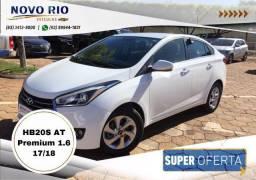 Hyundai HB20S Premium 1.6 AT