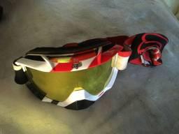 Óculos Fox Airspc, motocross, enduro, Trilhas