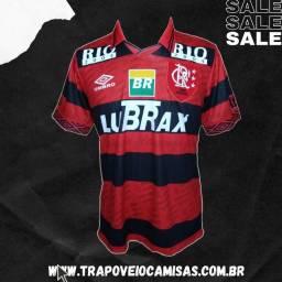 Camisa Flamengo - 1996