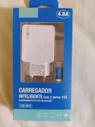 Carregadores, Fones e Cabos USB