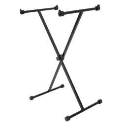 Suporte para teclado formato X - Somos loja - Novo + NF
