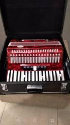 Sanfona Todeskini 80 baixos acordeon
