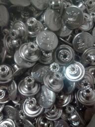 Botão de pressão 17 mm com 1000 unidades