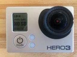 Título do anúncio: Câmera GoPro Hero 3
