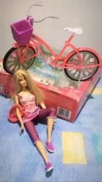 Barbie bicicleta nova