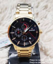 Relógio Masculino Original Swish Importado Premium