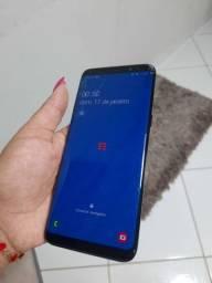 S8 tela trincada funcionando 100%