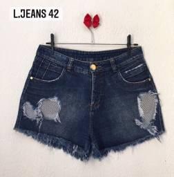 Shorts seminovos 42