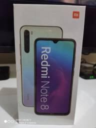 Xiaomi Note 8 4 ram 64 GB novos lacrados originais GLOBAIS com garantia de 3 meses