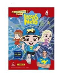 Álbum Luccas Neto + Pôster Exclusivo +  10 Cards e 40 figurinhas