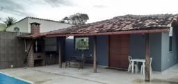 Casa de praia para Veraneio com Piscina, wiffi, praia 50 mts, 10 pessoas
