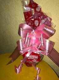 Faça suas encomendas dia das mães - coração de chocolate
