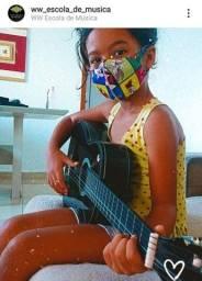 Aulas de música em domicílio e online