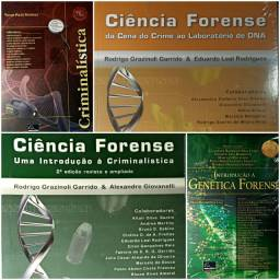Livros Novos de Criminalística, Perícia, Ciência Forense. Valores na descrição