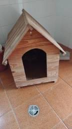Casinha de cachorro em madeira