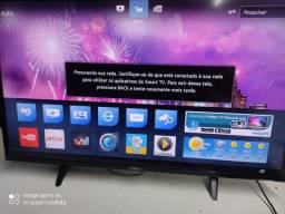 Tv AOC led 32 SMART tv wi-fi YouTube Netflix controle remoto pesinho ENTREGA LOCAL